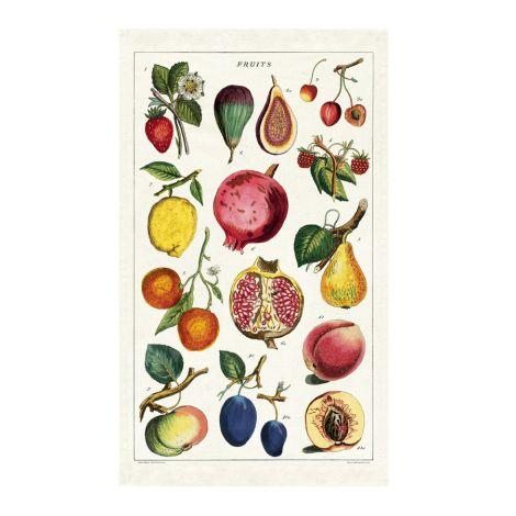 Cavallini Geschirrtuch Fruits •