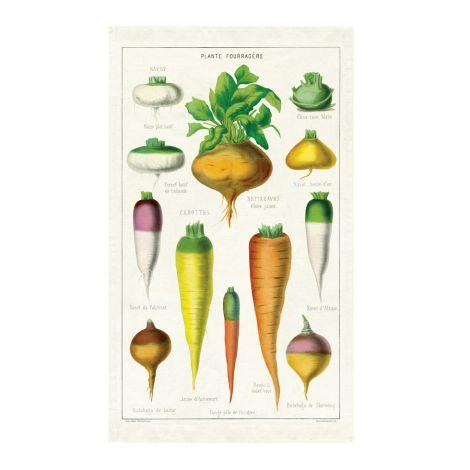 Cavallini Geschirrtuch Vegetables •