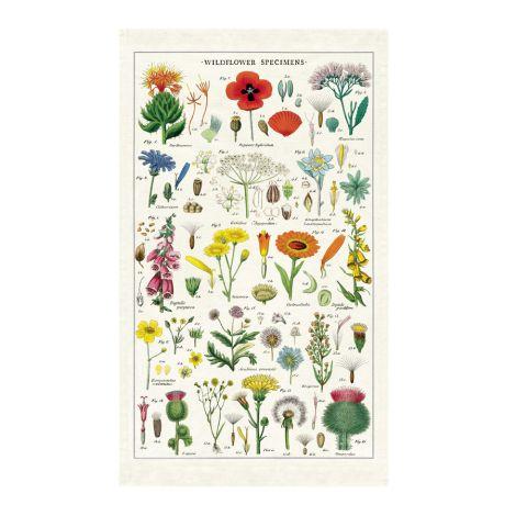 Cavallini Geschirrtuch Wildflowers