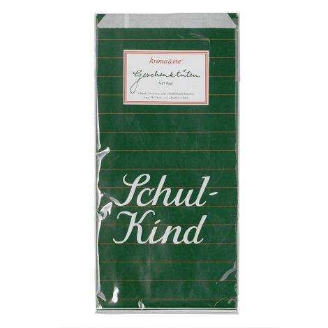 krima & isa Geschenktüten inkl. Etiketten Schulkind 6er-Set