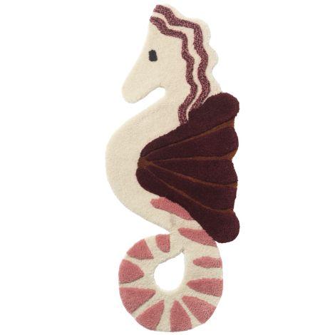 ferm LIVING Teppich/Wanddekoration Seahorse Multi