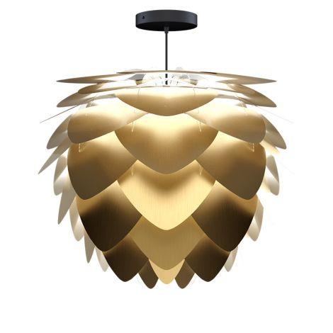 UMAGE - VITA Copenhagen Lampenschirm Aluvia Medium Brushed Brass