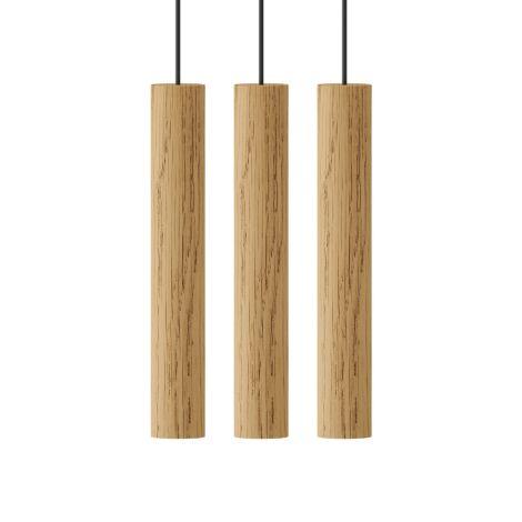 UMAGE - VITA copenhagen Deckenlampe Chimes Oak 3-teilig