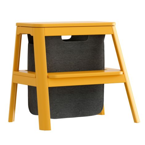 UMAGE - VITA copenhagen Hocker mit Aufbewahrung Step it up Saffron Yellow