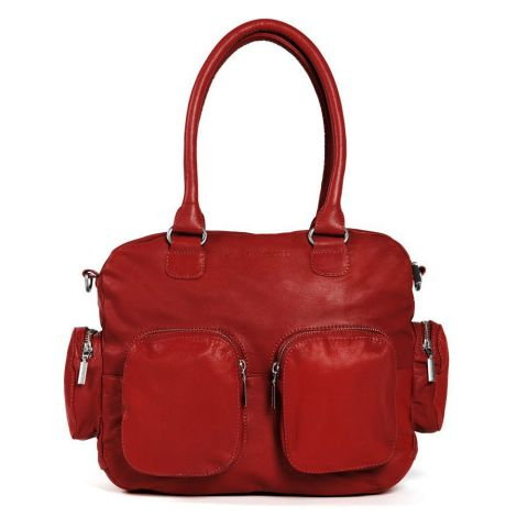 Sticks and Stones Ledertasche Vancouver Red