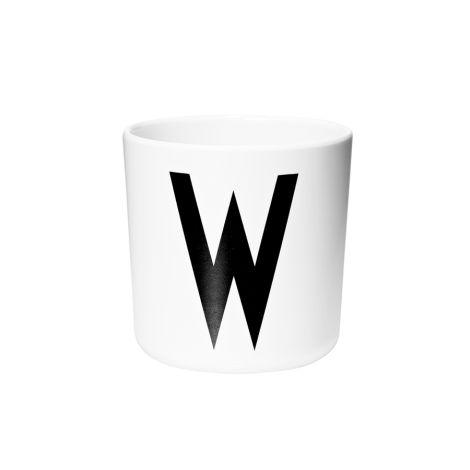 Design Letters Melamin Becher W •