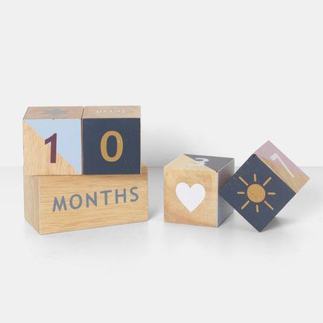 ferm LIVING Holzwürfel Wooden Age Blocks