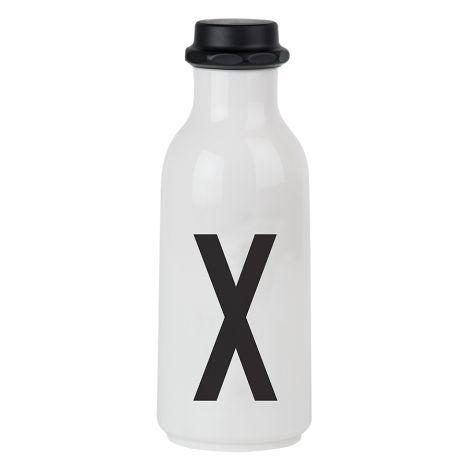 Design Letters Wasserflasche X •