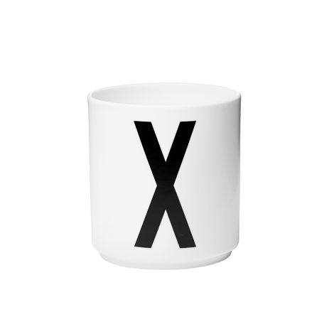 Design Letters Porzellan Becher X •