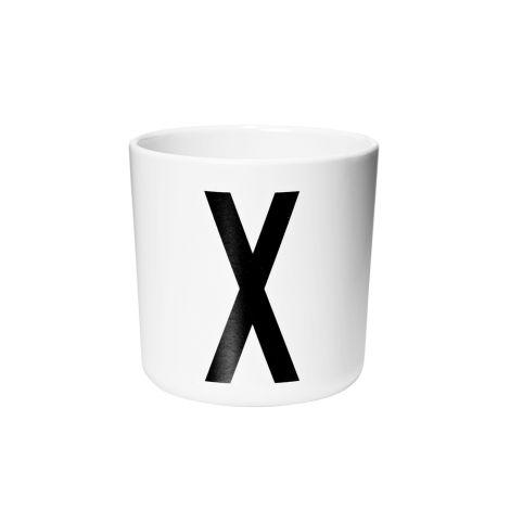 Design Letters Melamin Becher X