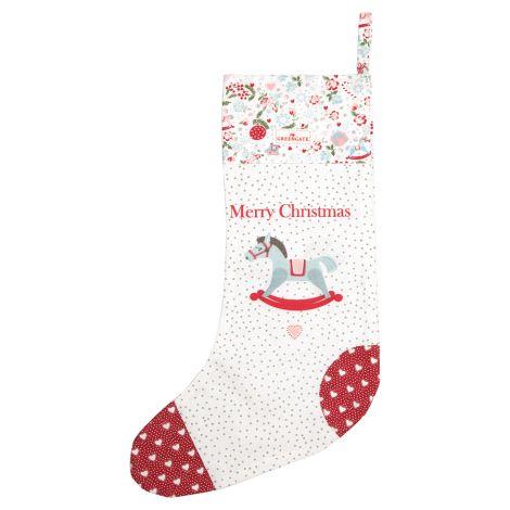 GreenGate Weihnachtsstrumpf Merla White