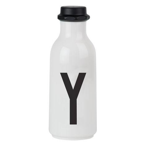 Design Letters Wasserflasche Y •