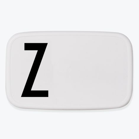 Design Letters Lunchbox Z •