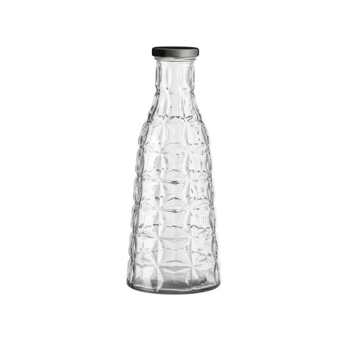 bloomingville gro e glasflasche mit deckel online kaufen emil paula. Black Bedroom Furniture Sets. Home Design Ideas