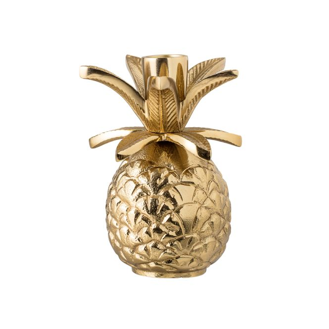 bloomingville kerzenhalter ananas gold online kaufen emil paula. Black Bedroom Furniture Sets. Home Design Ideas