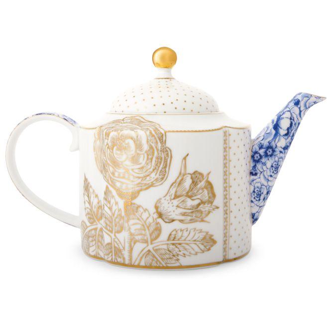 Pip studio teekanne royal white acheter en ligne emil - Acheter vaisselle pip studio ...