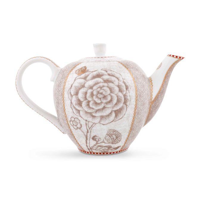 Pip studio tea pot small spring to life off white acheter - Acheter vaisselle pip studio ...