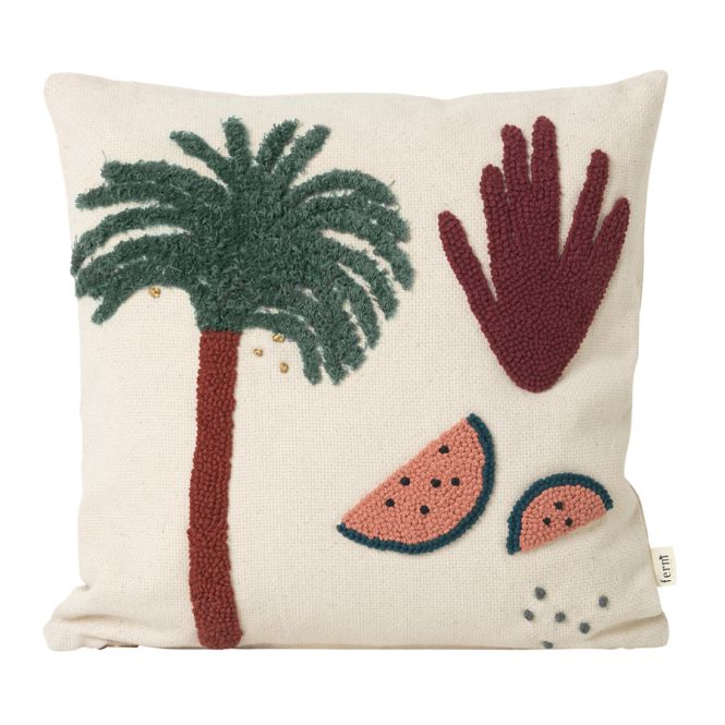 ferm living kissen palm 40 x 40 cm online kaufen emil. Black Bedroom Furniture Sets. Home Design Ideas
