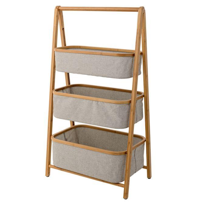 bloomingville regal aufbewahrung bambus grey online kaufen. Black Bedroom Furniture Sets. Home Design Ideas