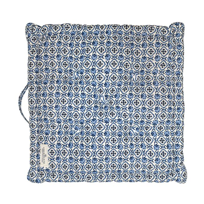 greengate sitzkissen hope blue 50x50 online kaufen emil paula. Black Bedroom Furniture Sets. Home Design Ideas