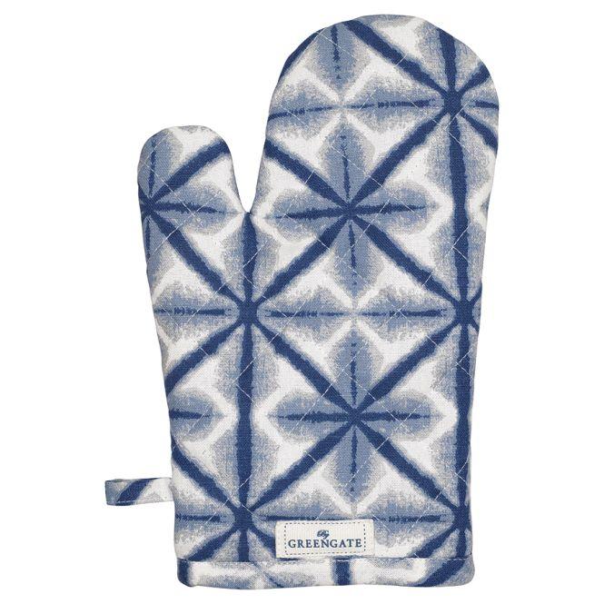 greengate ofenhandschuh lia blue online kaufen emil paula. Black Bedroom Furniture Sets. Home Design Ideas