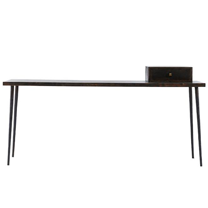 house doctor konsolentisch club schwarz gebeizt online kaufen emil paula. Black Bedroom Furniture Sets. Home Design Ideas