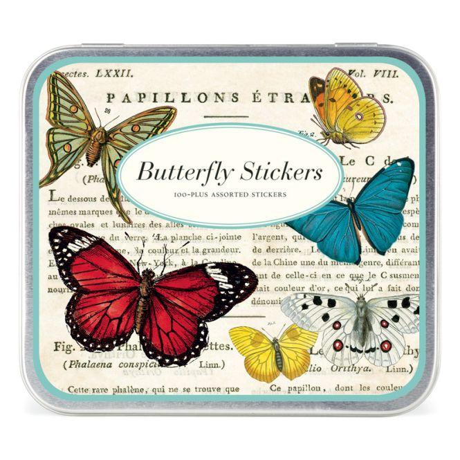 cavallini butterflies stickers online kaufen emil paula. Black Bedroom Furniture Sets. Home Design Ideas