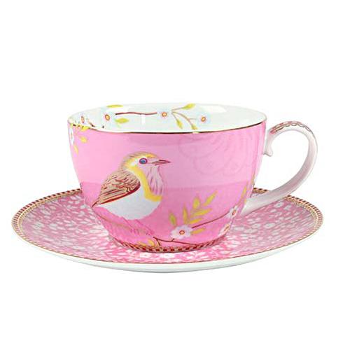 pip studio cappuccino tasse early bird pink online kaufen emil paula. Black Bedroom Furniture Sets. Home Design Ideas
