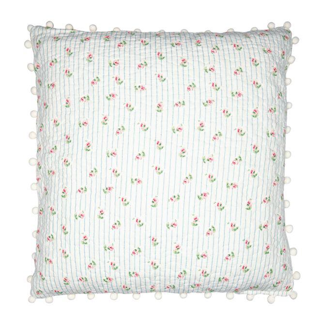 greengate kissen lily white pom pom 50x50 online kaufen emil paula. Black Bedroom Furniture Sets. Home Design Ideas