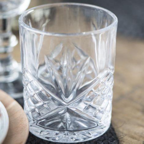 IB LAURSEN Glas gemustert