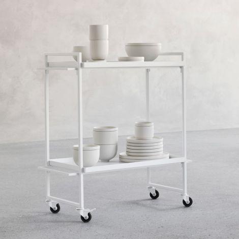 Kristina Dam Studio Bauhaus Trolley White