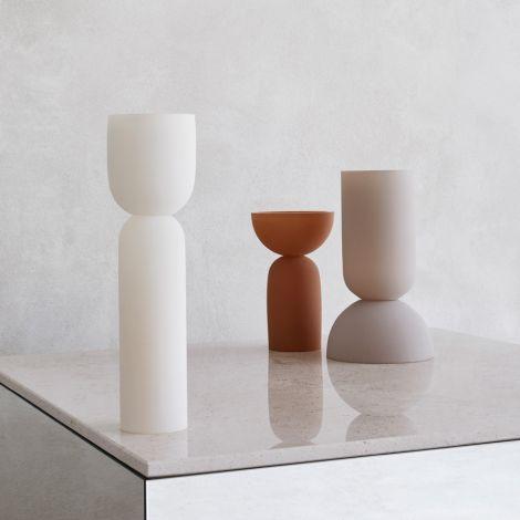Kristina Dam Studio Dual Vase Ocher S