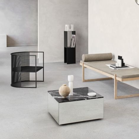 Kristina Dam Studio Bauhaus Stuhl Lounge Chair Black