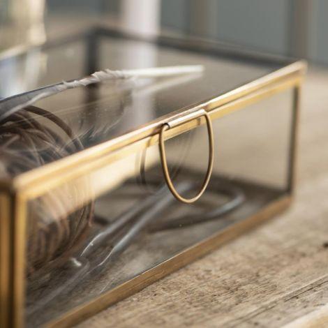 IB LAURSEN Glaskasten mit Deckel länglich