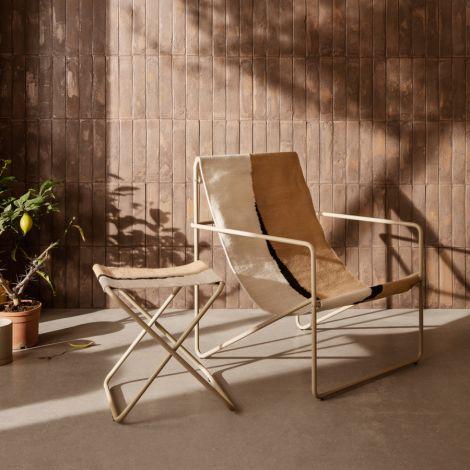 ferm LIVING Stuhl Desert Cashmere/Soil