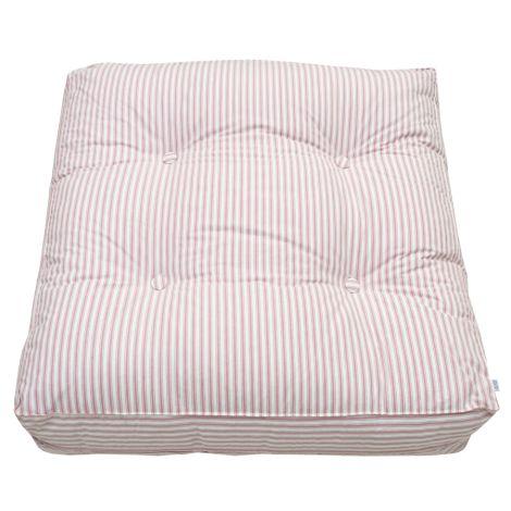 Oliver Furniture Bodenkissen Rosa Streifen