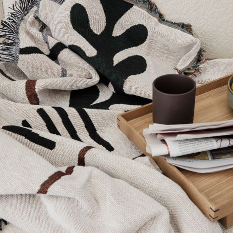 ferm LIVING Tablett Holz Bon Oak S
