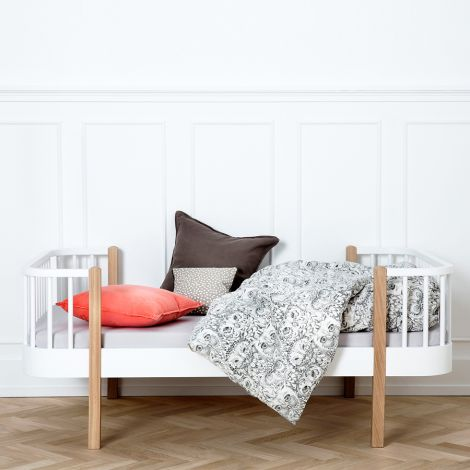Oliver Furniture Junior- und Kinderbett Wood Weiß/Eiche