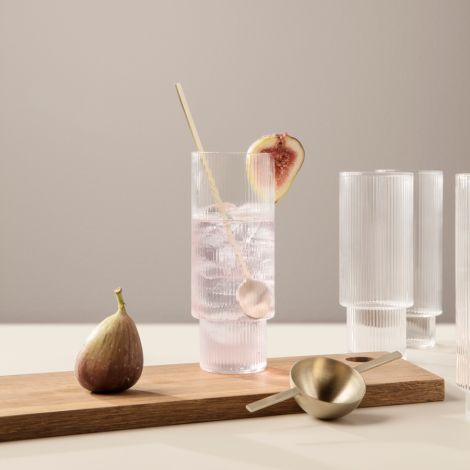 ferm LIVING Löffel Cocktail Lang Fein