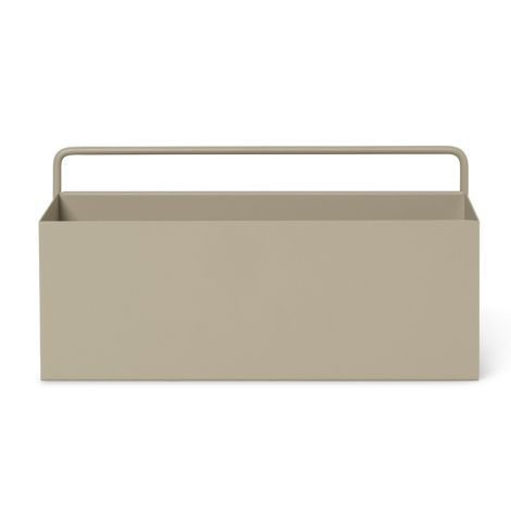ferm LIVING Aufbewahrungsbox Wand Rectangle Cashmere
