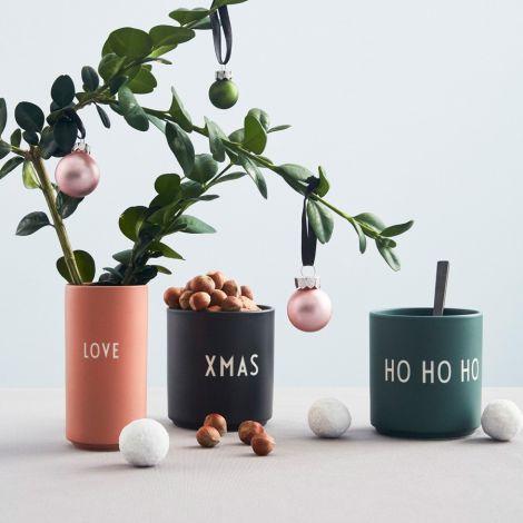 Design Letters Porzellan Becher Favourite Cups Ho Ho Ho Green