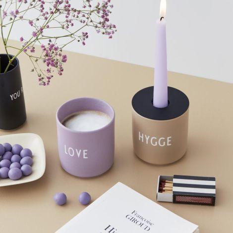 Design Letters Porzellan Becher Favourite Cups Hygge Beige