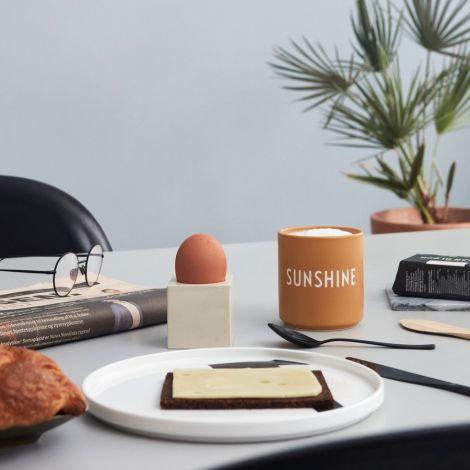 Design Letters Porzellan Becher Favourite Cups Sunshine Mustard