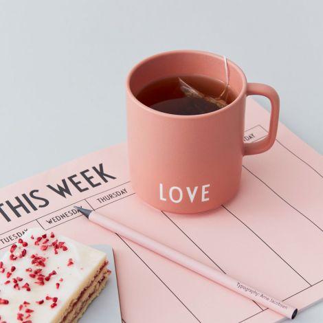Design Letters Porzellan Tasse Favourite Cups Love Nude