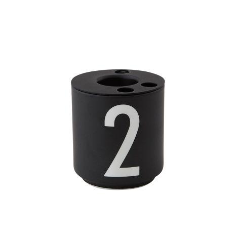 Design Letters Kerzenhalter für Espresso-Becher 4er-Set