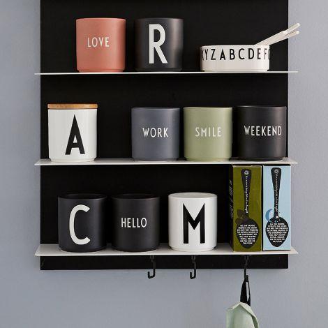 Design Letters Porzellan Becher Hello