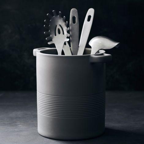 Nicolas Vahé Gefäß für Küchenutensilien Earth Grau/Braun