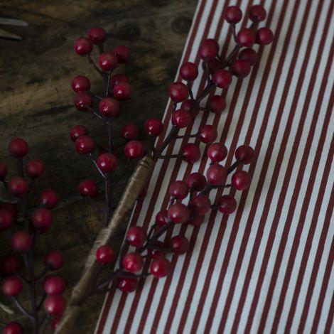 IB LAURSEN Künstlicher Zweig mit roten Beeren 60 cm