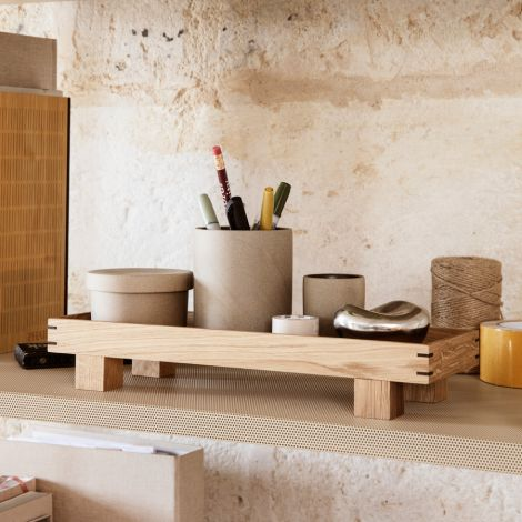 ferm LIVING Tablett Holz Bon Oak XS