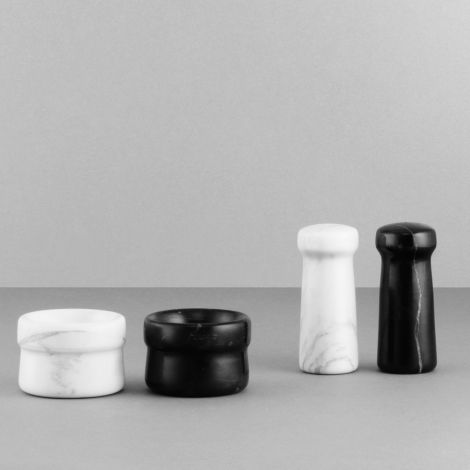 Normann Copenhagen Craft Pfefferfässchen Black •